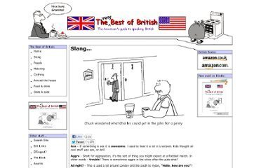 The Best of British - British Slang | Lexicool.com Web Review | Scoop.it