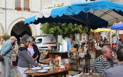 Tournon-d'Agenais. Brocante dans la bastide | Evénements Fumel - Vallée du Lot | Scoop.it