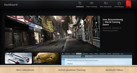 Tutorials, Video-Trainings auf DVD, Online Software-Training - video2brain | iPad:  mobile Living, Learning, Lurking, Working, Writing, Reading ... | Scoop.it