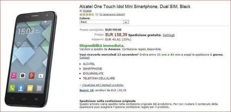 Alcatel One Touch Idol Mini in offerta su Amazon.it | Angariblog.net | angariano | Scoop.it