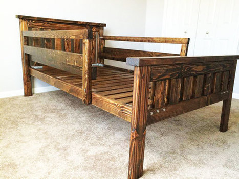 DIY Twin Bed | HowToSpecialist - How to Build, Step by Step DIY Plans | Garden Plans | Scoop.it