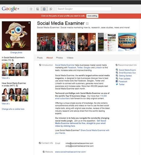 12 Google+ Marketing Tips From the Pros   Last Social Media News   Scoop.it