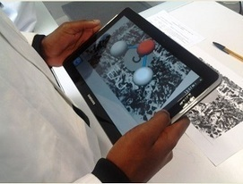 Utilisation de la tablette tactile en cours de chimie | mlearn | Scoop.it
