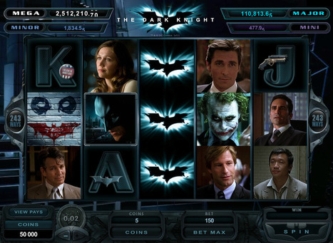 The Dark Knight™ Online Slot Launches with Online Casino Bonuses   This Week in Gambling - Fantasy Sports   Scoop.it