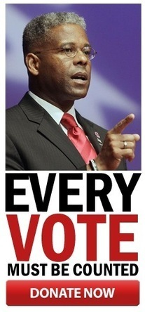 Help Allen West succeed in a fair and accurate count of ALL the votes | News You Can Use - NO PINKSLIME | Scoop.it