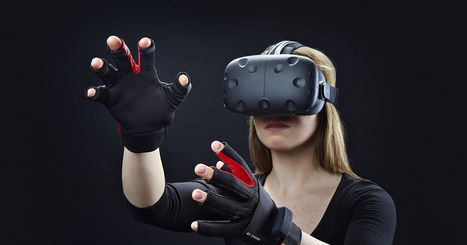 Use your fingers to play in Vive's world with the Manus VR glove | Transliteracy: Physical, Augmented, & Virtual Worlds | Scoop.it