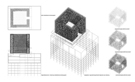 POST-COMMUNITY rethinks cemetery as an interactive monument - designboom | architecture & design magazine | Francisco Muzard Ureta | Scoop.it