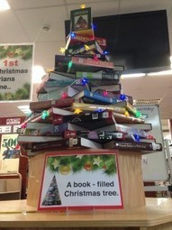 Puxi Secondary Library | On the FIRST day of LIBRARY CHRISTMAS 2016… | Book News Readers Can't Live Without | Scoop.it