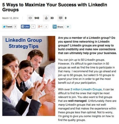 LinkedIn Publishing Platform: What Marketers Need to Know | | Linkedin | Scoop.it