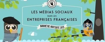 Entreprises françaises & médias sociaux : Une présence bien affirmée mais une faible vision stratégique | Clic France | Scoop.it
