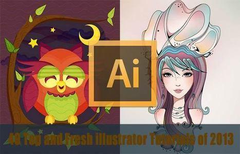 100+ Useful Adobe Illustrator Tutorials for Designer of 2013 | Photoshop Inspirations and Tutorials | Scoop.it