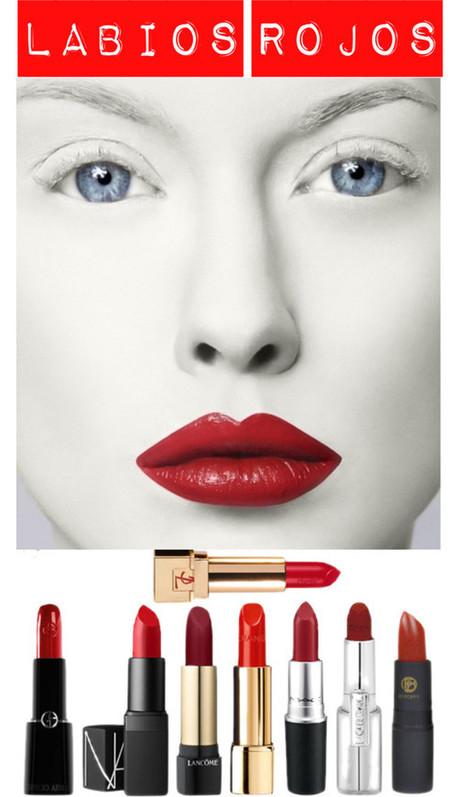 Maquillaje con labios rojos | | Moda y Belleza | Scoop.it