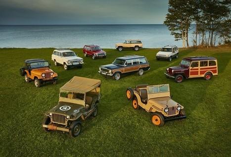 Jeep: 75 anni di fuoristrada   Motori e Buon Cibo   Scoop.it