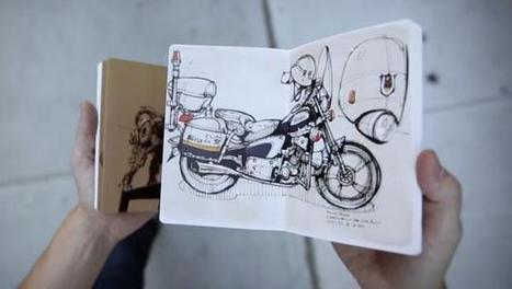 Moleskine And Paper App Partner To Turn Your Drawings Into Beautiful Books | Design that inspires | Scoop.it