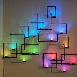 Wall Sconces with Hidden Weather Display and Tangible User Interface | Open Source Hardware News | Scoop.it