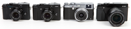 COMPARISON: Fujifilm X-E1, X100s, X20 & X10 | Ron Martinsen | Fuji X-Pro1 | Scoop.it