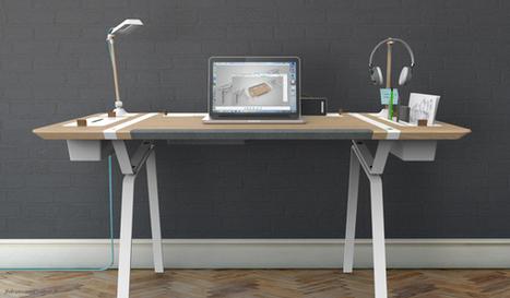 Desk Concept by Francois Dransart » Yanko Design | Mr Brown's Design and Technology | Scoop.it