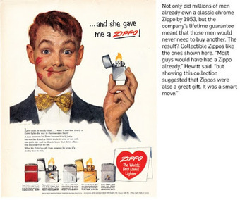 The Sound of a Zippo: Remembering How I killed a Zippo | A Cultural History of Advertising | Scoop.it