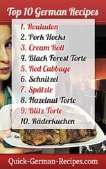 Quick German Recipes - Traditional German Food | Sections bilangues allemand-anglais ............................................. (ressources pour élèves et enseignants) | Scoop.it