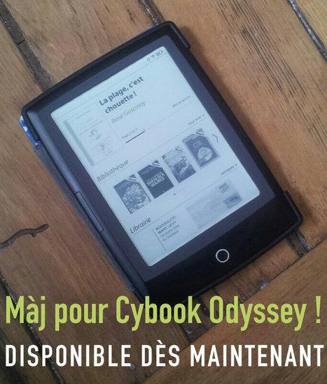 Mise à jour pour les Cybook Odyssey ! | Bookeen Blog 17/12/14 | Bib & Web | Scoop.it