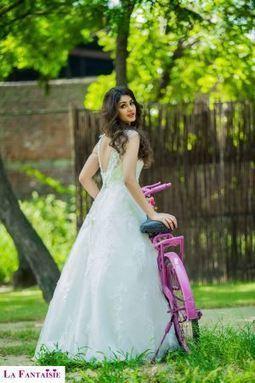 Vintage Tube Top Designer Bandage Wedding Gown | Wedding Accessories | Scoop.it