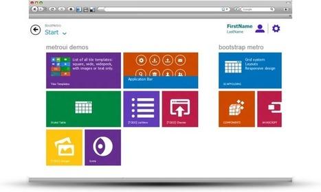 BootMetro : Metro style web framework | Lectures web | Scoop.it