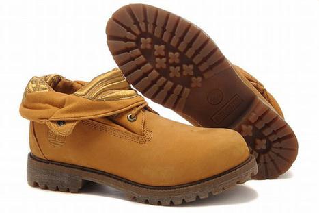 Mens Roll Top Timberland Boots Wheat Yellow Eleusine Indica Bottom | popular list | Scoop.it