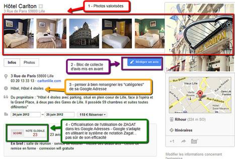 Google Adresse fait peau neuve… ou se fait croquer par Google+ | Professionnalisation tourisme | Scoop.it