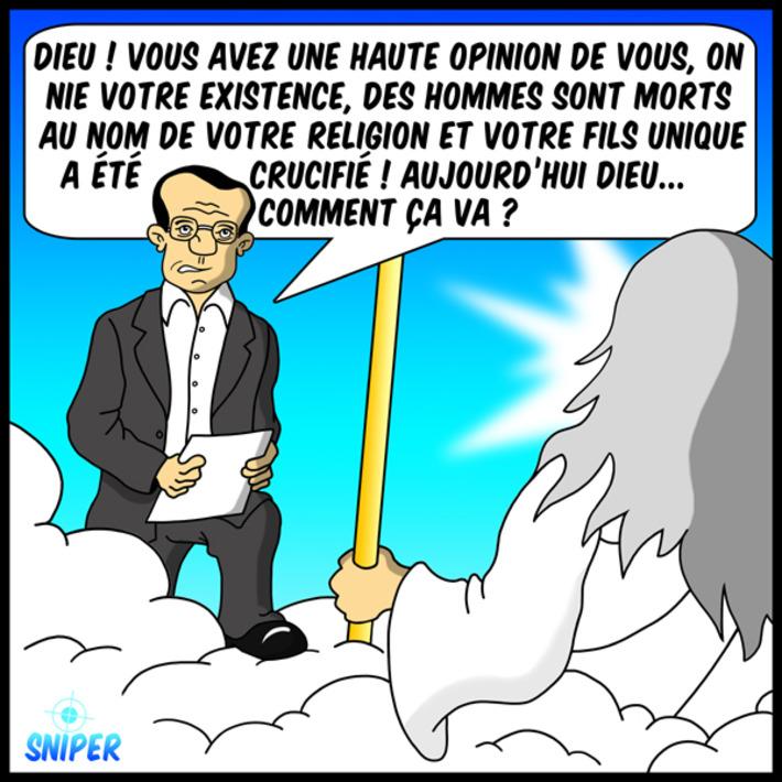 Jean-Luc Delarue face à Dieu ! | Baie d'humour | Scoop.it