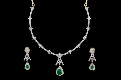 Alluring American Diamond Set | Gifting Zone | Scoop.it