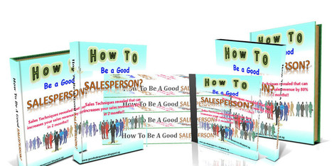 How to be a Good SalesPerson: Sales Copy   How to be a Good SalesPerson   Scoop.it