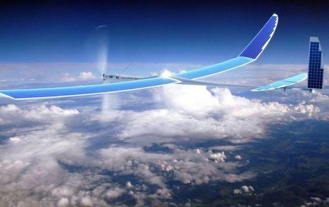 Google veut connecter le monde en 5G avec des drones   UseNum - Technologies   Scoop.it