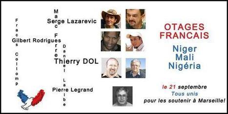 Twitter / otagesmali: les 7 #otages français ont ... | Droits de l'Homme et Compagnie | Scoop.it