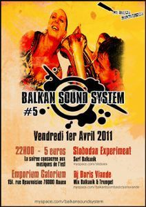 Balkan Sound System 5 | Le Courrier des Balkans | Rouen | Scoop.it