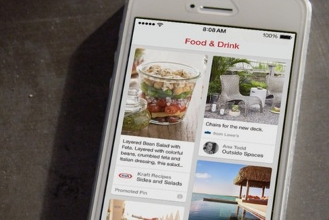 Pinterest Launches First Paid Ads With Kraft, Gap and Others | creaempresa | Scoop.it