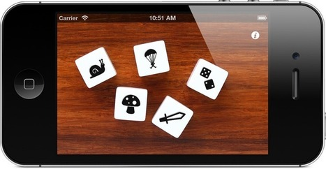 Story Dice - creative picture dice for plot, character, and setting ideas, Fun for actors, writers, and friends! | Thinkamingo | Technology and the Common Core | Scoop.it