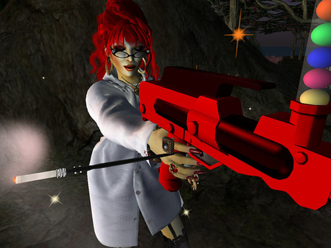 Looking for a target to hit with my paintball gun (available for all) on Zolastan in #SecondLife | Everything About 3D Immersive Virtual Worlds | Scoop.it