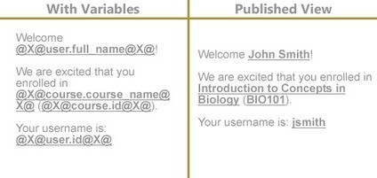 Personalize your course: Add student names to content | EdTech Connection | Education Technology | Scoop.it