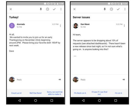 Gmail va bientôt répondre aux mails à votre place | Freewares | Scoop.it