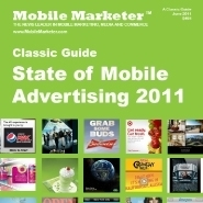 Mobile Marketer's State of Mobile Advertising 2011 | QRiousCODE | Scoop.it