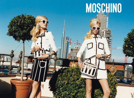 Moschino S/S '13 Campaign: 60s Revival Anti-Vomit | Fashion Passion | Scoop.it