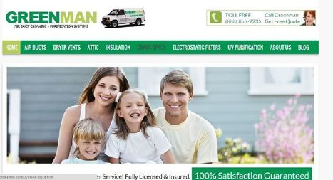 Free Dryer Vent Cleaning With Air Duct Cleaning Service in Anaheim by Greenman | PRLog | Services | Scoop.it