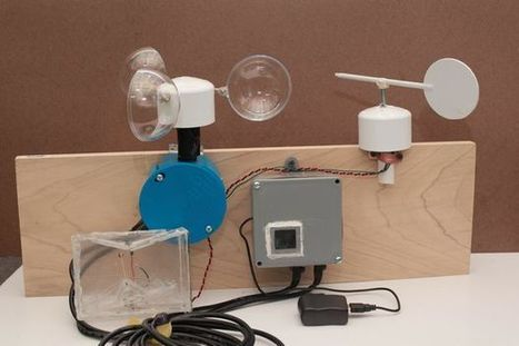 Complete DIY Raspberry Pi Weather Station with Software | Arduino, Netduino, Rasperry Pi! | Scoop.it