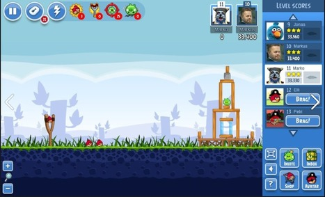 Angry Birds Friends arrive sur Android | Geeks | Scoop.it