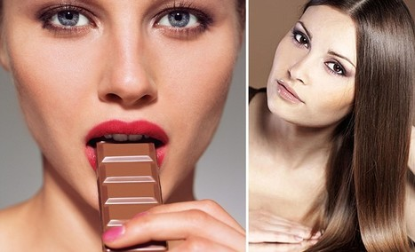 Eat chocolate to banish greys: How to munch your way to younger hair | Kickin' Kickers | Scoop.it