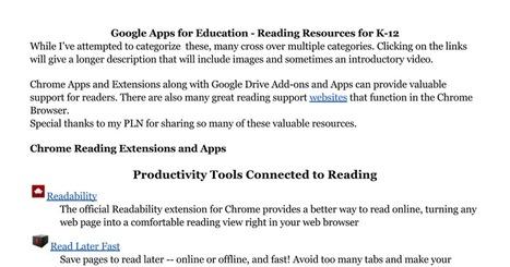 Google Tools for Reading | immersive media | Scoop.it