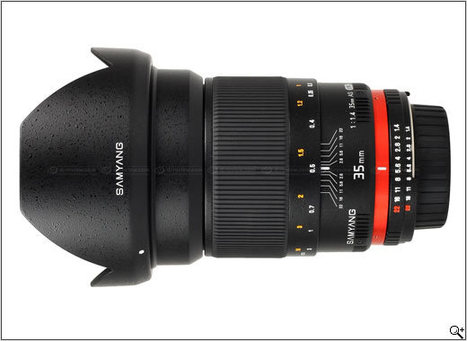 Samyang announces final version of 35 mm f/1.4 AS UMC lens | Photography Gear News | Scoop.it