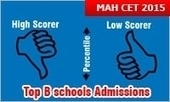 MAH CET 2015: Top B schools are for candidates with low scores; High scorers looking at DTE to help | MBA Universe | Scoop.it