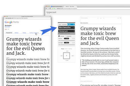 New Google app lets you experiment with web fonts | Typography | Creative Bloq | Nonprofit Data Visualization | Scoop.it