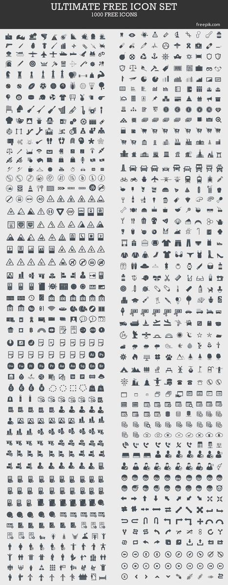 elearning hoje: 1000 ícones gratuitos | Educaci...